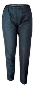 'Tommy & Kate'  Ladies Dark Denim Blue Peg Style Trousers - Size 12
