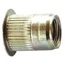 BOX OF 4000 NEW AVK ALS4T-610-4.2 Rivet Nut,Knurled,Steel,Zinc Yellow