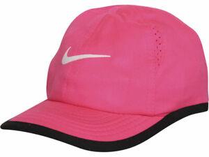 Nike Infant Kids Girl's Featherlight Baseball Cap Strapback Pink Sz 12-24 Months