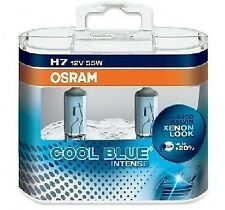 2 ampoules H7 OSRAM COOL BLUE INTENSE SAAB 9-3 Break 1.9 TTiD 160ch