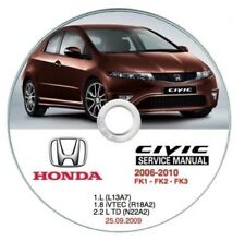 Honda Civic (2006-2010) manuale officina workshop manual