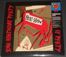 THE BIRTHDAY PARTY hee-haw USA LP new sealed 200 GRAM #0801/1500 boys next door