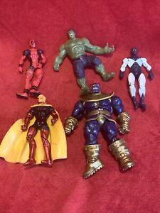 Marvel Universe 3.75 Lot of 5 ADAM WARLOCK DEADPOOL THANOS VANCE ASTRO HULK