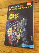 1990 Adventures Comics Interactive Comic Book Dudley Serious DAVE COOPER Rare