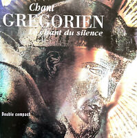 Compilation 2xCD Chant Grégorien - Le Chant Du Silence - France (VG/VG)