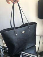 Coach Large Handbag City Tote Bag Leather Reversible 2in1 RRP 295