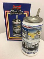 Budweiser 1956 Ford Thunderbird Classic Car Series Beer Stein CS484 w/ Box &COA