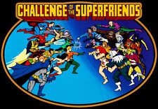 70's Cartoon Classic Challenge of the SuperFriends custom tee Any Size Any Color