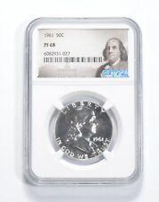 PF68 - 1961 Franklin 90% Silver Half Dollar - NGC *786