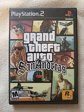 GTA Grand Theft Auto San Andreas PS2 With  Manual & Map COMPLETE