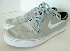 Nike SB Zoom Stefan Janoski Skate Shoes Mens 9.5 Gray White Suede 633014