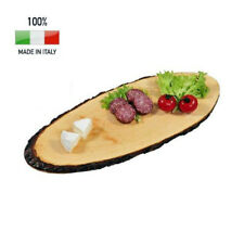 Calder Tagliere in legno con Corteccia 60cm salumi formaggi affettati antipasti