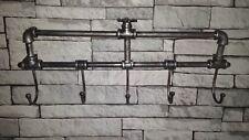 Vintage Industrial Style Wall Mounted Coat Key Hooks Rack Towel Rail Urban Chic