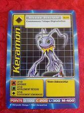 Digimon Digi-Battle Card French Series 3 Bo-114 Keramon