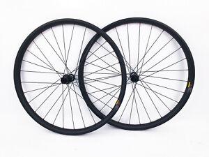 "DT Swiss 350 Disc 27.5"" Boost Clincher Carbon Mountain Bike Wheelset 11Speed NEW"