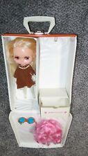 1972 Original Vintage Platinum Blonde Blythe Doll And Case