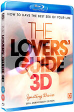 LOVERS GUIDE 3D - IGNITING DESIRE / ENJOY THE BEST SEX  - BLU-RAY - REGION B UK