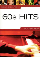 Klavier Noten : 60s Hits 25 Classic Songs (Really Easy Piano) leicht - AM985402
