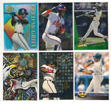 1993 SELECT PADRES  FRED MCGRIFF SELECT STARS   INSERT CARD #1