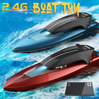 2.4GHz RC Electric Boat Toy High Speed Racing Remote Control Boat For Adult Kids