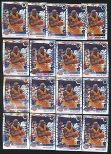 Lot (17) 2019-20 Hoops Premium SHAQUILLE O'NEAL Pulsar #283 Tribute Lakers