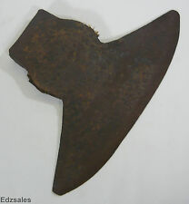 Antique Large 13 Inch Broad Axe Head Cast Steel