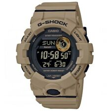 Casio G-Shock * GBD800UC-5 G-Squad Step Tracker Watch Utility Color Brown
