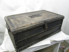 "Antique or Vintage Wooden Studded Tack Chest ""Greg"""