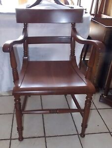 Solid Cherry Armchair / Dinette Chair / Desk Chair by Willett  (AC180)