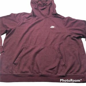 Nike Funnel Neck Hoodie Womens size 2X Pullover Sweatshirt
