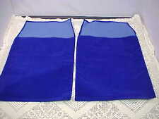 Presentation Pouches Blue Two Total 9-3/4x12-3/4 Faux Ultra Suede Plaque Holder