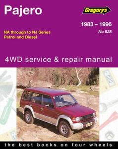 Mitsubishi Pajero NA NB NC ND NE NF NG NH NJ 1983 - 1996 Repair Manual Gregory's