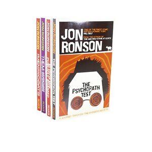 Jon Ronson 4 Books Bundle Collection Set (The Psychopath Test...) NEW