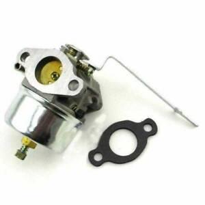 Carburetor With Gasket For Tecumseh HS40 HS50 4HP 5HP 631918 Lawn Mower Engine
