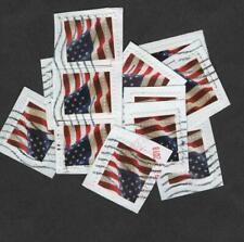 100+ US Flag Stamps, Forever (49 cent, 2017 Issue)  On Paper
