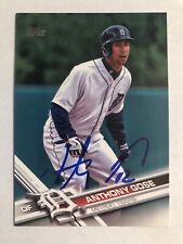2017 Topps Anthony Gose #268 Auto Signed Autograph Tigers