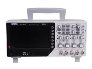 Hantek DSO4204B 200MHz  4CH Oscilloscope 1GS/s EXT DVM Auto gamme auto Function