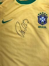 PAULINHO HAND SIGNED BRAZIL SHIRT PREMIER LEAGUE.