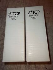 2 Pc Lot Tcp 8Tfc03Cl 120V 3 Watt Light Bulb Cold Cathode 15W Candelabra