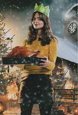 "Jenna Coleman ""Dr. Who"" Autogramm signed 20x30 cm Bild"