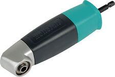 WOLFCRAFT Winkelbithalter Bohrvorsatz Bithalter 90° Winkel Schrauben Bohren NEU