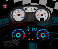 Vauxhall Vivaro van 01-06 interior speedo dash lighting bulb upgrade dial kit