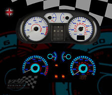 Van Vauxhall Vivaro 01-06 custom bulb interior speedo lighting upgrade dial kit