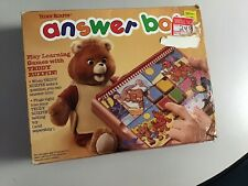 Used Vintage Teddy Ruxpin Answer Box 1988 World of Wonder With Battery