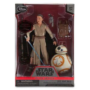 Disney Elite Series Star Wars Rey & BB-8 (Mint)