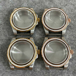 316L Stainless Steel 40mm Sapphire Glass Watch Shell for NH35/36 Movement