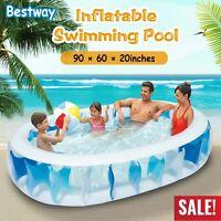 "90''x60"" Easy Set Swim Center Ground Inflatable Kid Family Swimming Pool  US"