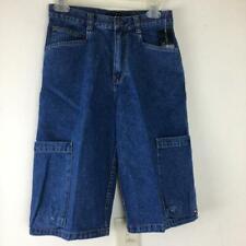 NEW TOMMY HILFIGER Boys Cargo Jeans Denim Shorts 14 Blue NWT