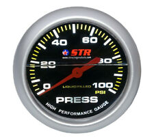 Oil Pressure Mechanical Gauge Liquid Filled High Performance 66mm Cheap STR