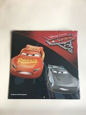 Brand New Calendar 2018 12 Month Cars Pixar Disney 10 inch Free Shipping